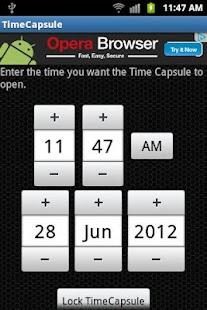 TimeCapsule - screenshot thumbnail
