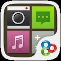 Square GO Launcher Theme icon