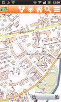 Screenshot of Corsica Offline mappa Map