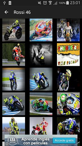 Moto GP pilotos 46 : Fondos