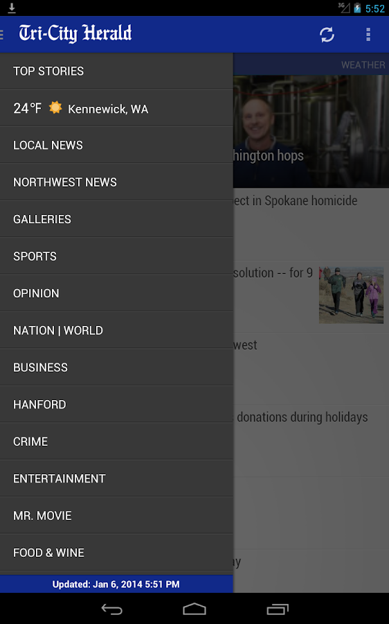 Tri-City Herald: WA state news - screenshot