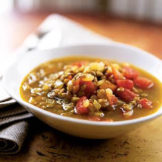 Gingery Lentil Soup.