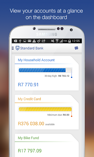 Standard Bank for Phone