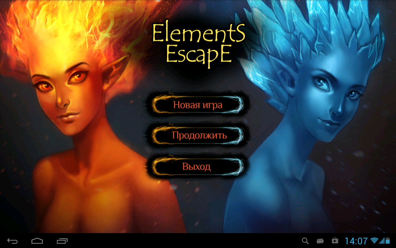 Elements Escape - screenshot
