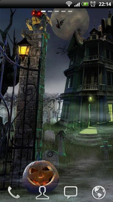 Haunted House LWP- screenshot