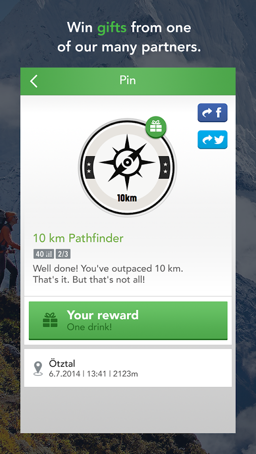 MAPtoHIKE - GPS Hiking Tracker- screenshot