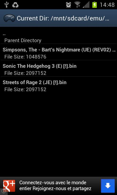AndroGens- screenshot