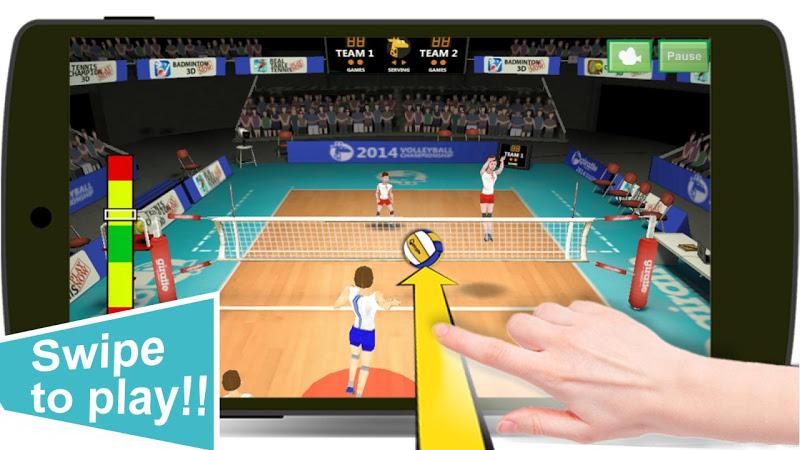 Volleyball Champions 3D Screenshot 1