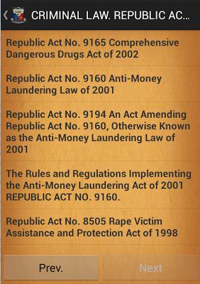 PHILIPPINES CRIMINAL LAW - screenshot