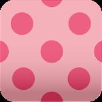 pink polkadots wallpaper ver5