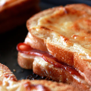 Baked Bacon & Cheese Sandwiches