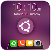 Ubuntu OS Dock Go Locker Theme