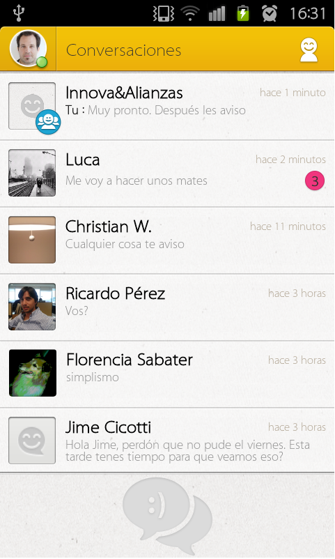 Personal Messenger - screenshot