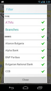 Bankomati Bulgaria- screenshot thumbnail