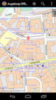 Screenshot of Augsburg Offline City Map