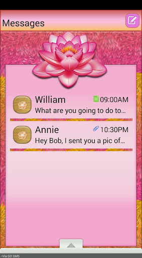 TropicalFur GO SMS THEME