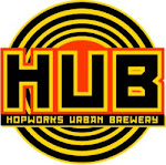 Logo of Hopworks Galactic Imperial Red
