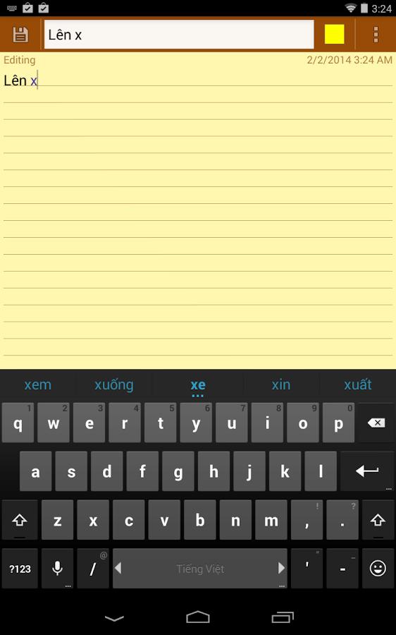 Laban Key Go Tieng Viet - screenshot