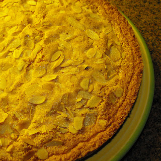 Fluffy Tangerine and Almond Cake.