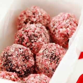 Peppermint Crunch Truffles.