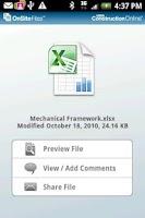 Screenshot of OnSite Files
