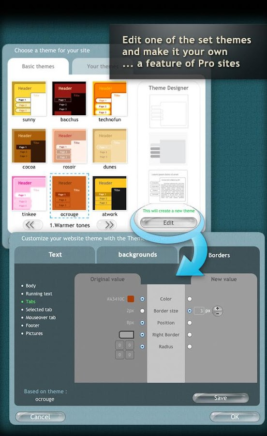 Website Builder For Android Android Apps On Google Play