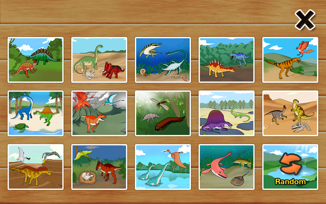 dinosaur puzzle for toddlers android apps on google play