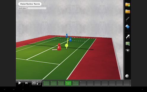 VisionTactics Tennis- screenshot thumbnail