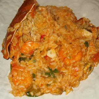 "Very ""Saucy"" Seafood Rice – Arroz de Marisco Malandro (Portugal)."