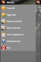 Screenshot of Calcio News - DLRR