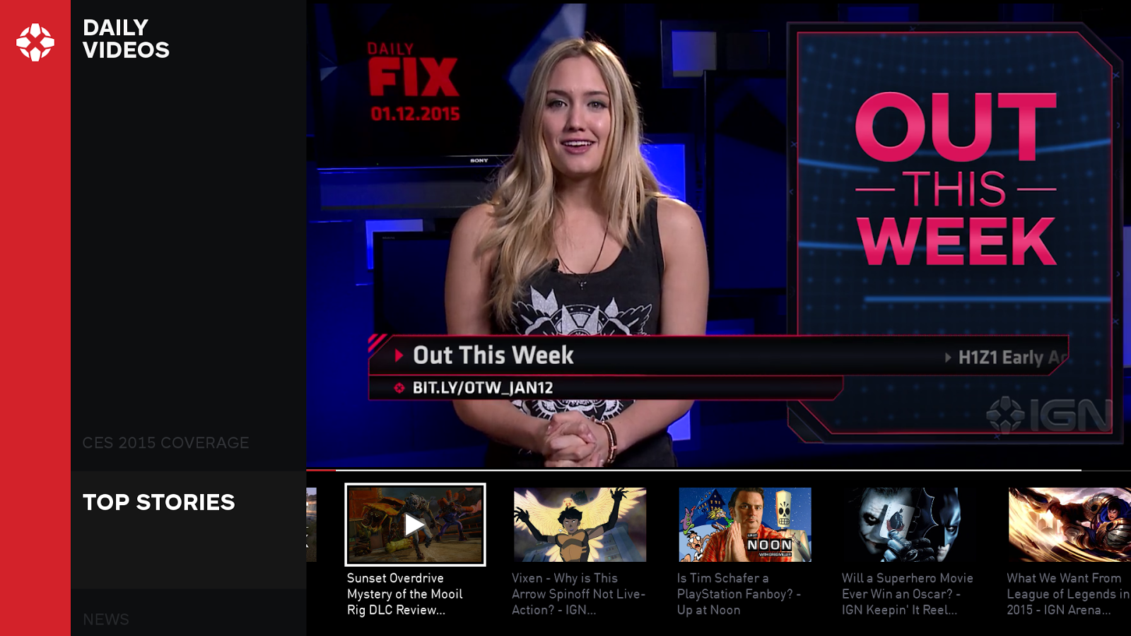 IGN For Android TV- screenshot