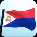 Sint Maarten Flag 3D Wallpaper icon