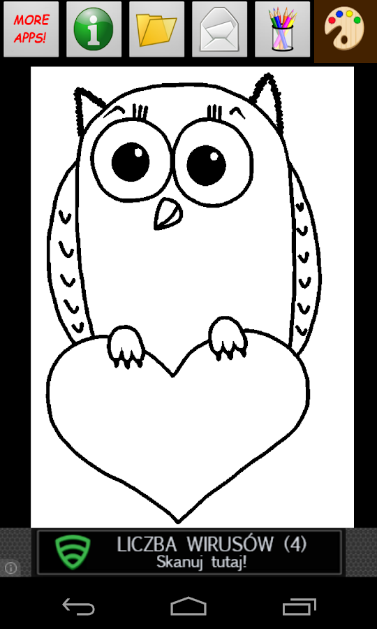 Valentines Coloring Book - screenshot
