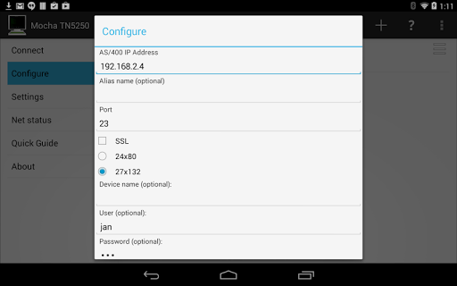 【免費通訊App】Mocha TN5250-APP點子