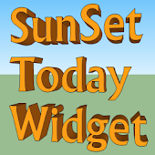 SunSet Today Widget