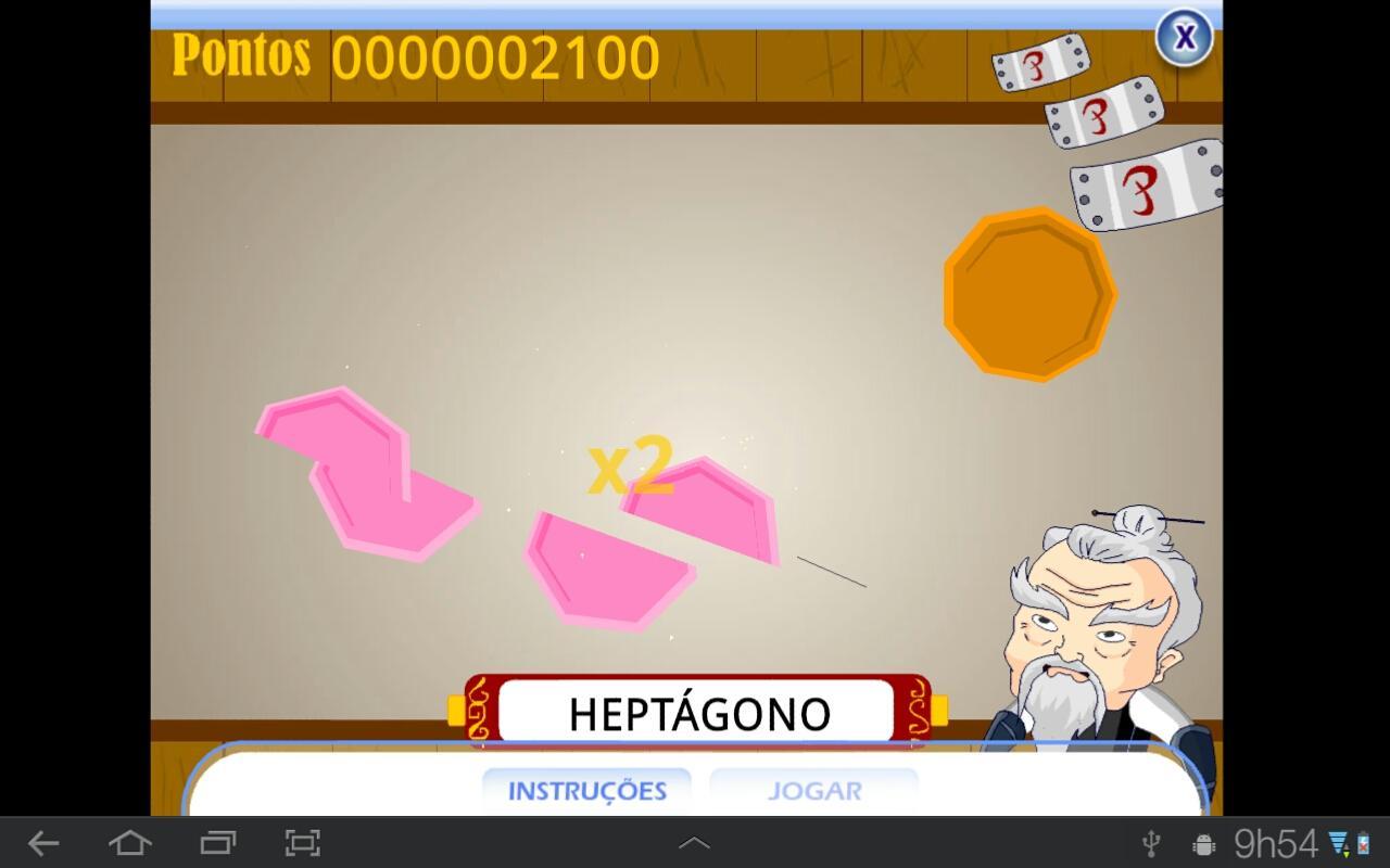 Corte os Polígonos- screenshot