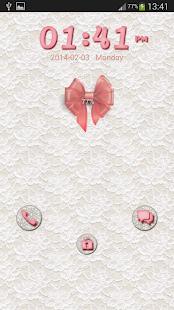 GO锁屏漂亮的蝴蝶结 個人化 App-愛順發玩APP