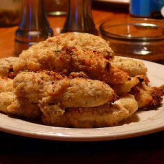Crunchy Parmesan Chicken Tenders.