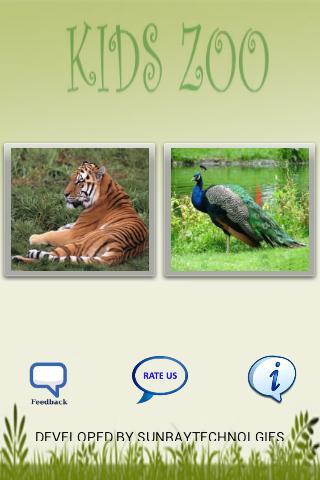 Kids Zoo Animals Birds Sounds