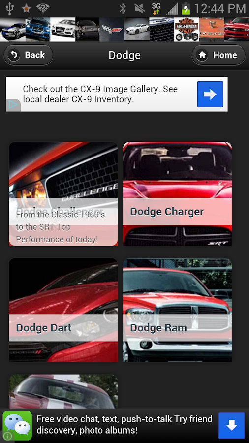 Dodge Wallpapers by AI - screenshot