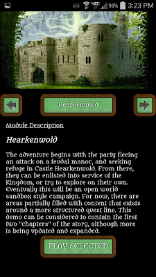 Hearkenwold (IceBlink RPG) - screenshot