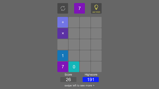2plus2 Number Puzzle- screenshot thumbnail