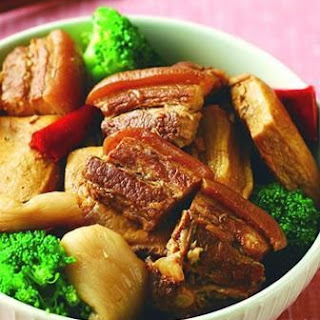 Hakka Braised Pork Dried Radish