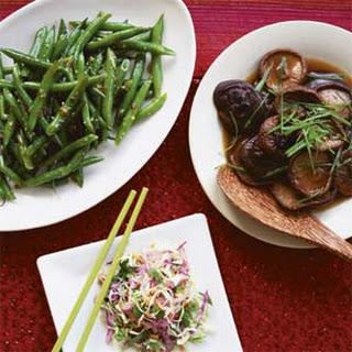 Hot Sichuan-Style Green Beans.