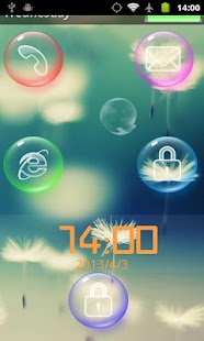 Bubble Screenlock - screenshot thumbnail