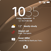 Xperia™ wallpaper: Copper