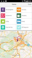 Screenshot of Vienna City Guide