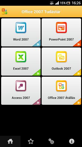 Tudástár - Office 2007 Haladó