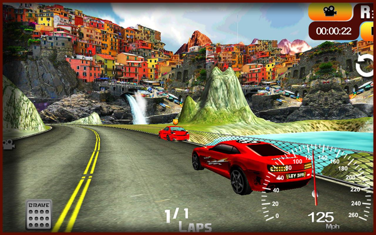 Race 3D Unleashed - Car Racing- screenshot