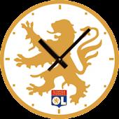 Olympique Lyonnais Clock